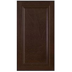 Wood Door Naples 16 1/2 x 30 1/8 Choco