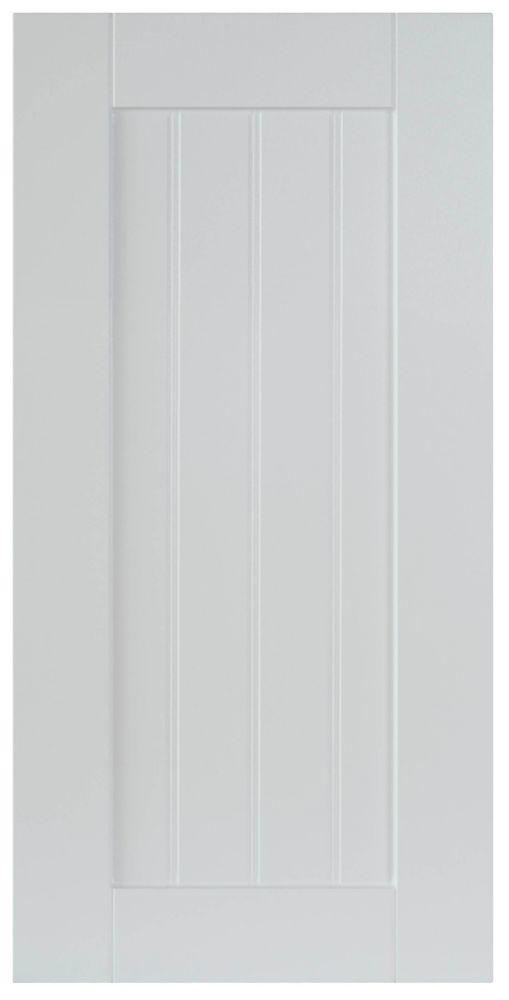 Thermo Door Odessa 11 7/8 x 22 1/2 White