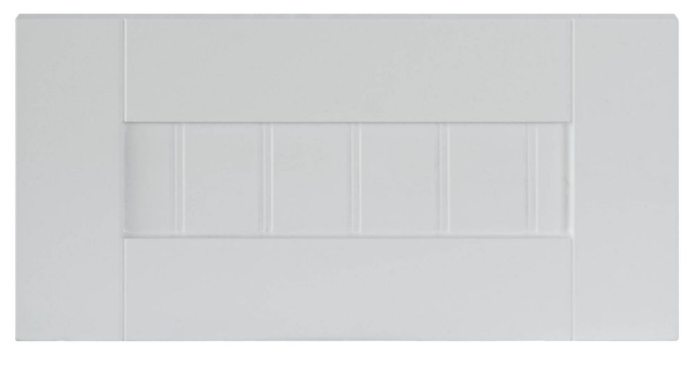 Thermo Drawer front Odessa 15 x 7 1/2 White
