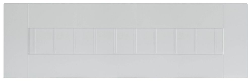 Façade Tiroir Thermo Odessa 23 3/4 x 7 1/2 Blanc
