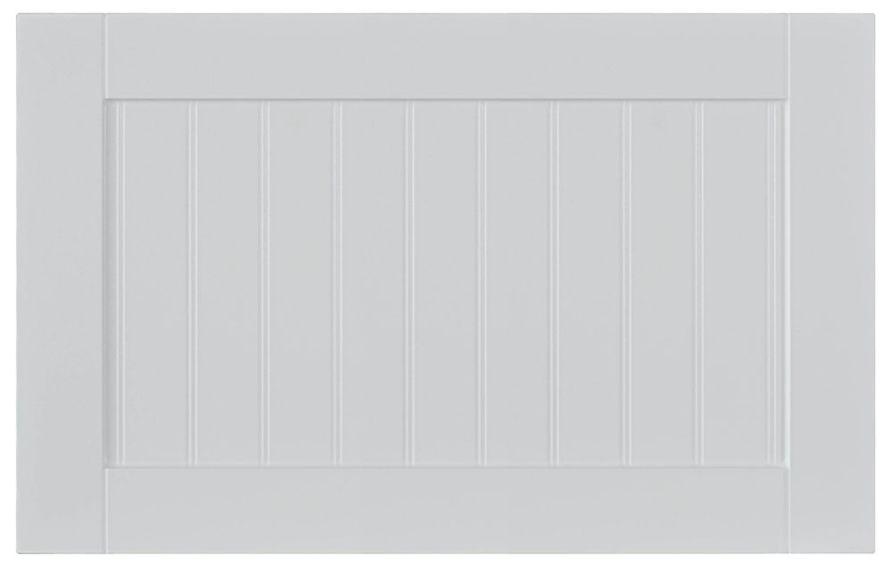 Thermo Drawer front Odessa 23 3/4 x 15 White