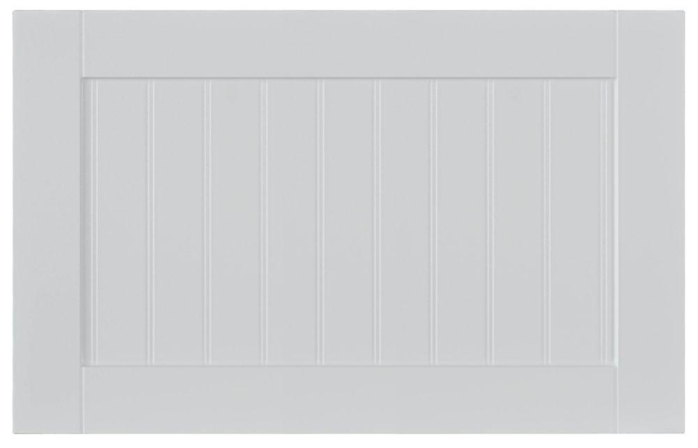 Façade Tiroir Thermo Odessa 23 3/4 x 15 Blanc