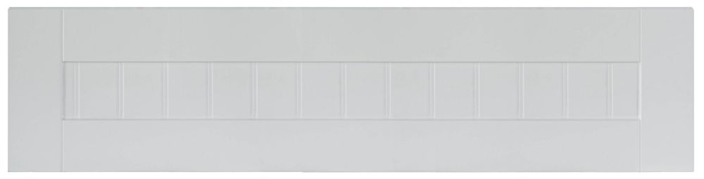 Thermo Drawer front Odessa 30 x 7 1/2 White