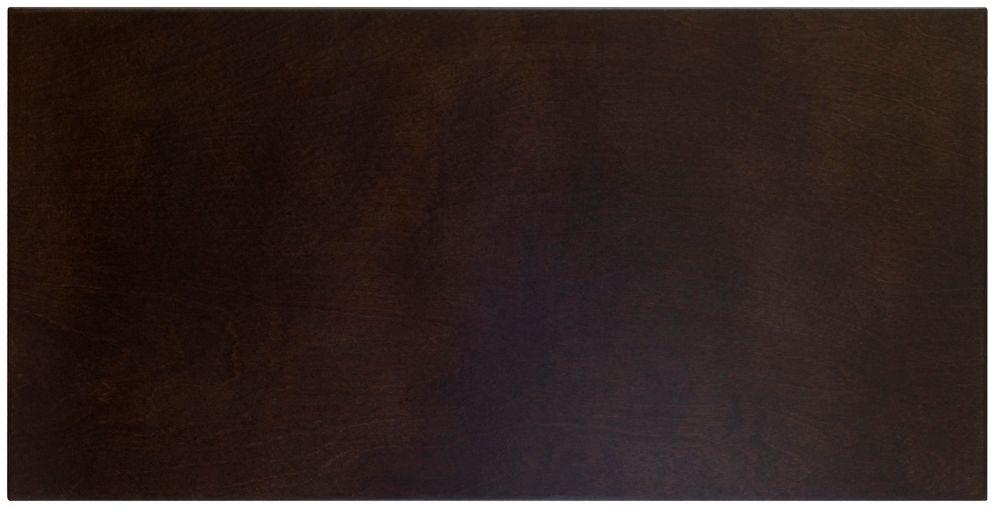 Veneer Door Glasgow 15 x 22 1/2 Choco