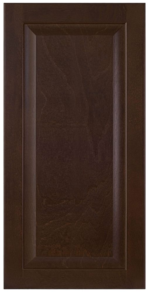 Wood Door Naples 15 x 30 1/8 Choco