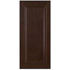 Wood Door Naples 15 x 33 7/8 Choco