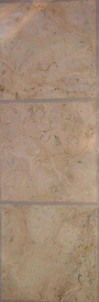 Allure Échantillon - Carreau de revêtement au sol, vinyle, 4 po x 8 po durable, Corfu