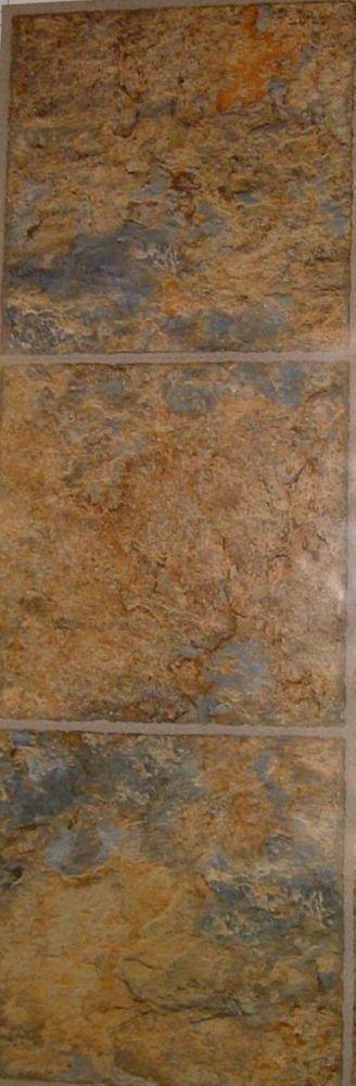 Carreaux souples en vinyle, Ashlar - échantillon de parquet, 4pox 8po
