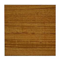 Allure Échantillon - Planche, vinyle durable, 4 po x 8 po, chêne Yukon