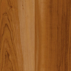 7.5 in. x 47.6 in. 2-Strip Red Cherry Luxury Vinyl Plank Flooring (Sample)
