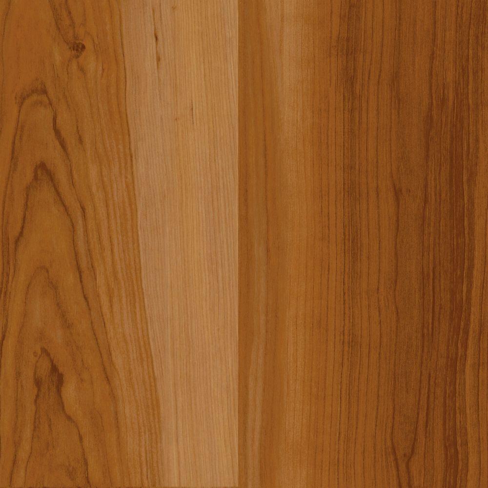 Rouge cerise - échantillon de revêtement de sol souple emboîtable, 4pox 8po