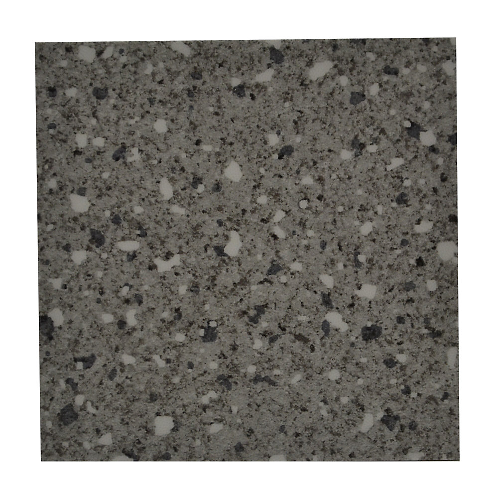 4-inch x 8-inch Commercial Confeti Dark Grey - Flooring (Sample)