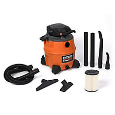 60 Litre (16 Gal.) 6.5 Peak HP Wet Dry Vacuum with Detachable Blower