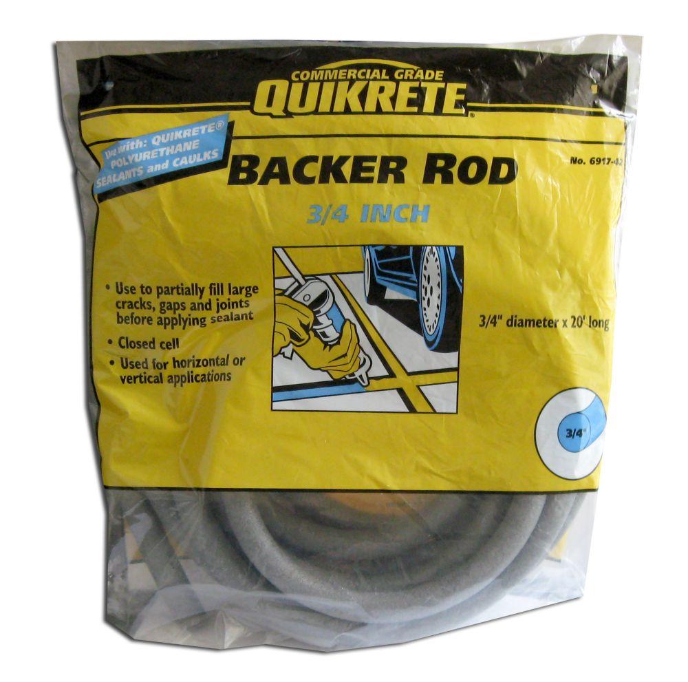 Backer Rod 3/4 inches x 20 feet