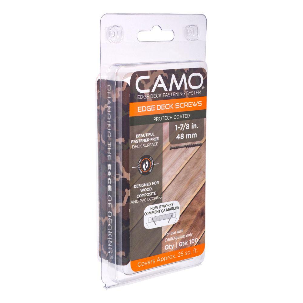 "CAMO Deck Screw  7 x 1 7/8"" 100 Pieces"