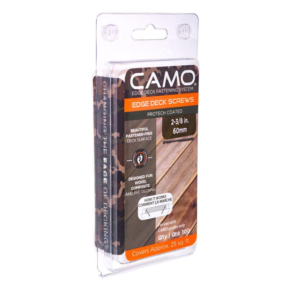 """CAMO Deck Screw  7 x 2 3/8"""" 100 Piece"""