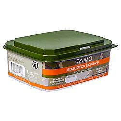 Camo 7 X 1-7/8-inch  Star Drive Trim Head Deck Fasteners In Green - 350-Piece