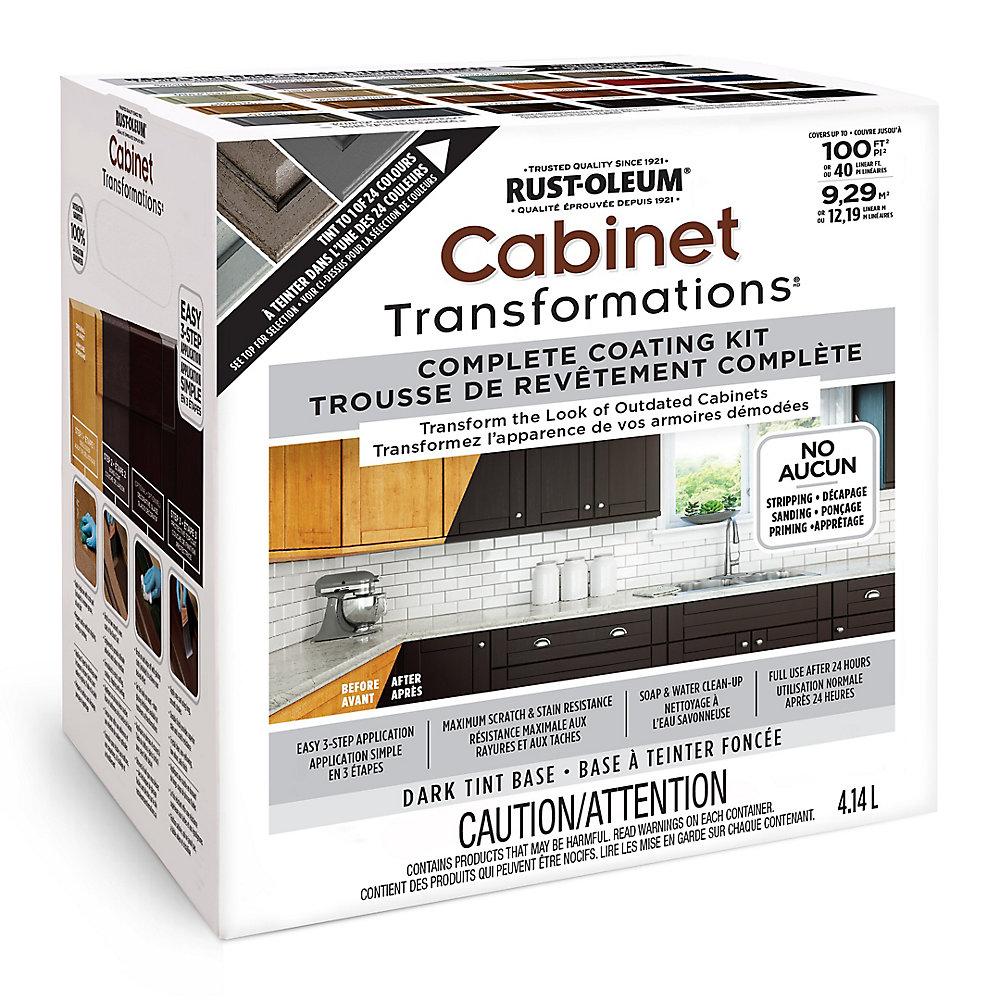 Astounding Cabinet Transformations Dark Colour Tint Base Kit 4 14 L Download Free Architecture Designs Itiscsunscenecom