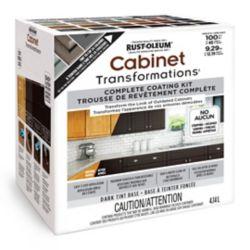 Rust-Oleum Kit de base de teinte foncée pour la transformation des armoires, 4,14 L (couvre jusqu'à 100 pi. ca.)