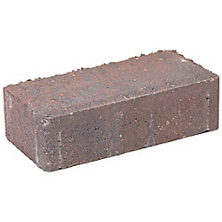 Cindercrete Brickstone Paver - Antique - Red/Charcoal