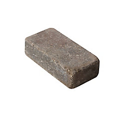 8-inch x 4-inch Roman Paver in Antique Brown
