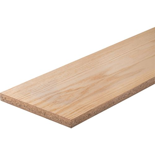Alexandria Moulding Maple/Oak Veneer Stair Riser 3/4 Inch x 7-1/2 Inch x 42 Inch