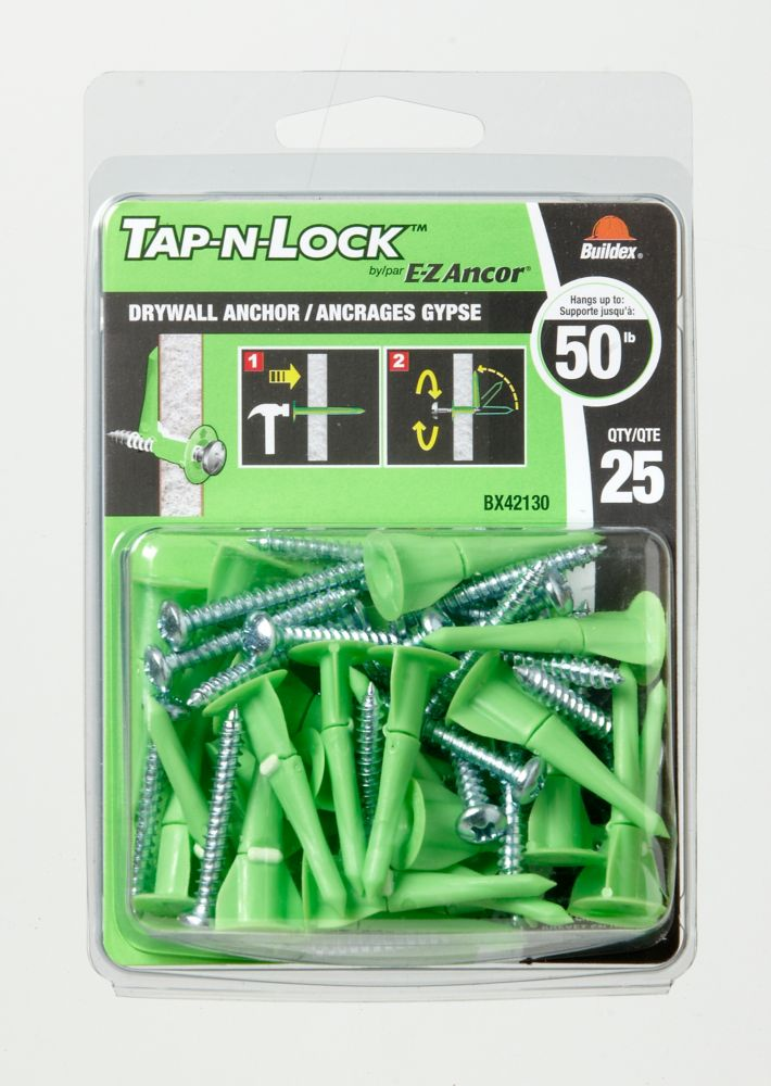 Ancrages Ez Ancor<sup>®</sup> Tap-N-Lock� 25 mcx