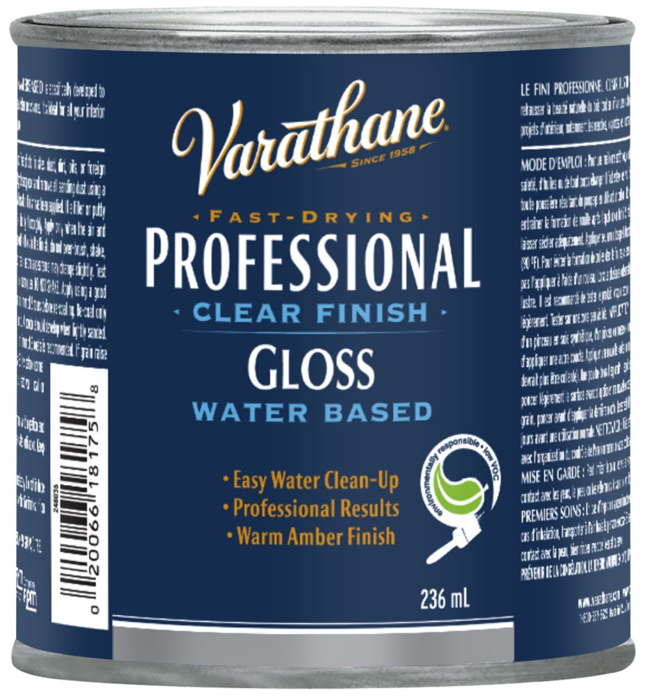 Finish Vara Pro Int Wb Gloss 236Ml
