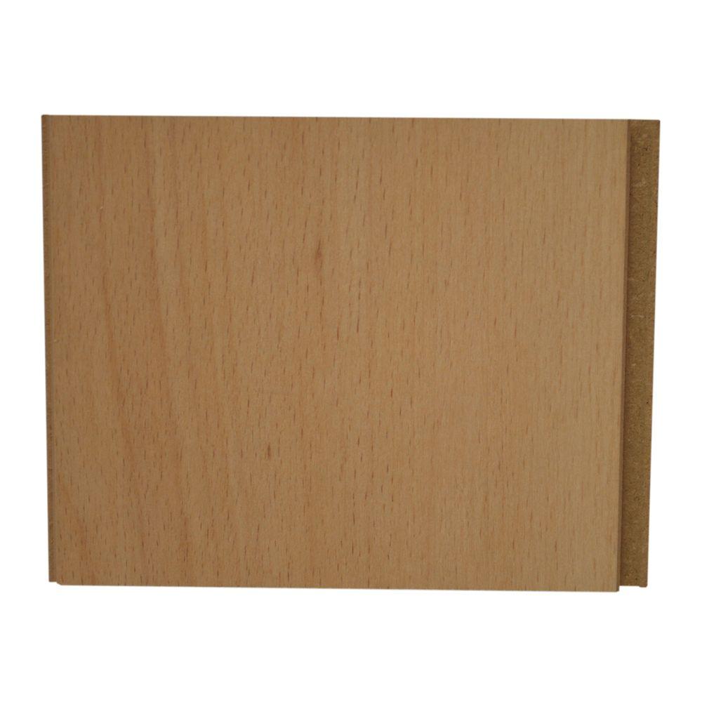 Sugar Maple 4-inch x 8-inch Hardwood Flooring Sample