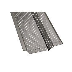 4 ft  Aluminum Gutter Guard (5-Pack)