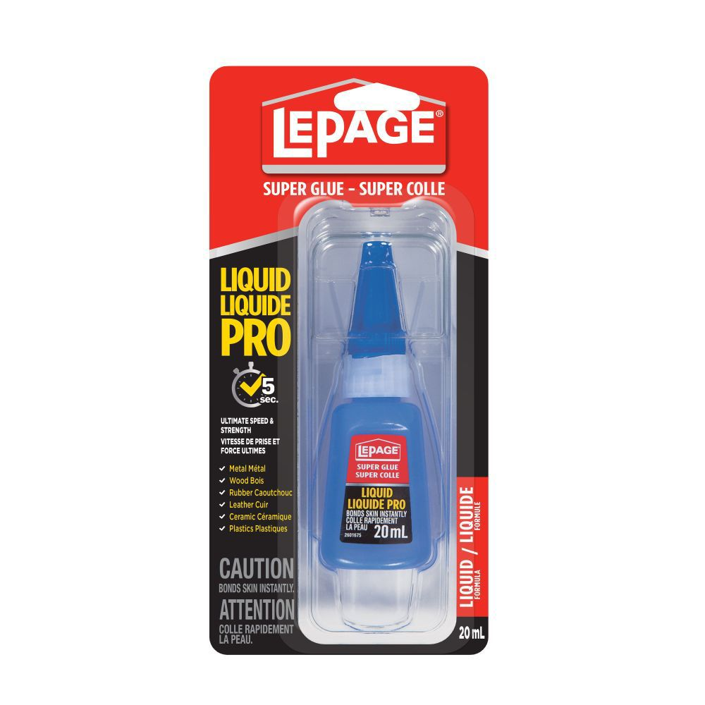 LePage<sup>®</sup> Super Glue Liquid Pro