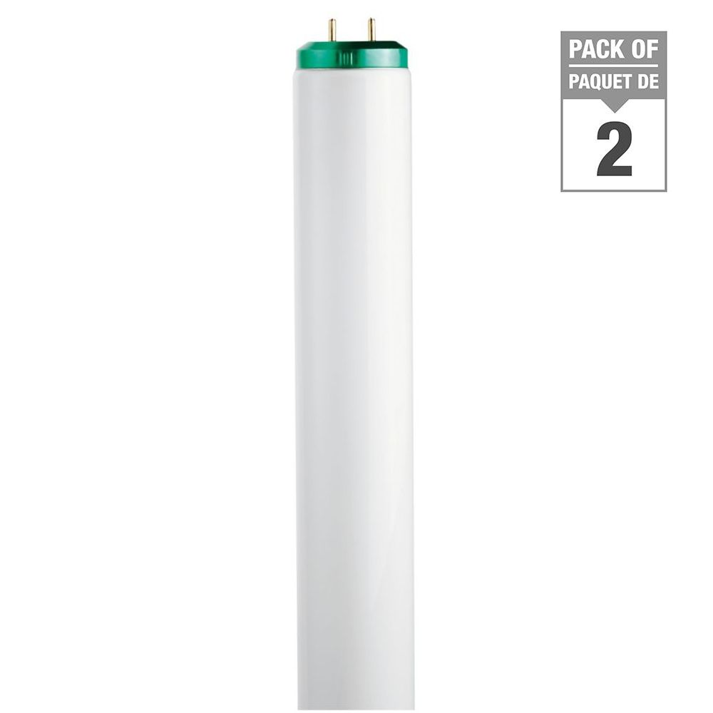 Fluorescent Linéaire T12 20 W 24 po Blanc froid (4100K) 2/paq.