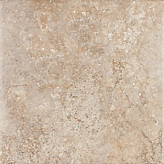 Sardegna Brown 18 In. x 18 In. Glazed Porcelain Floor & Wall Tile -( 13.13 Sq. Ft./Case)