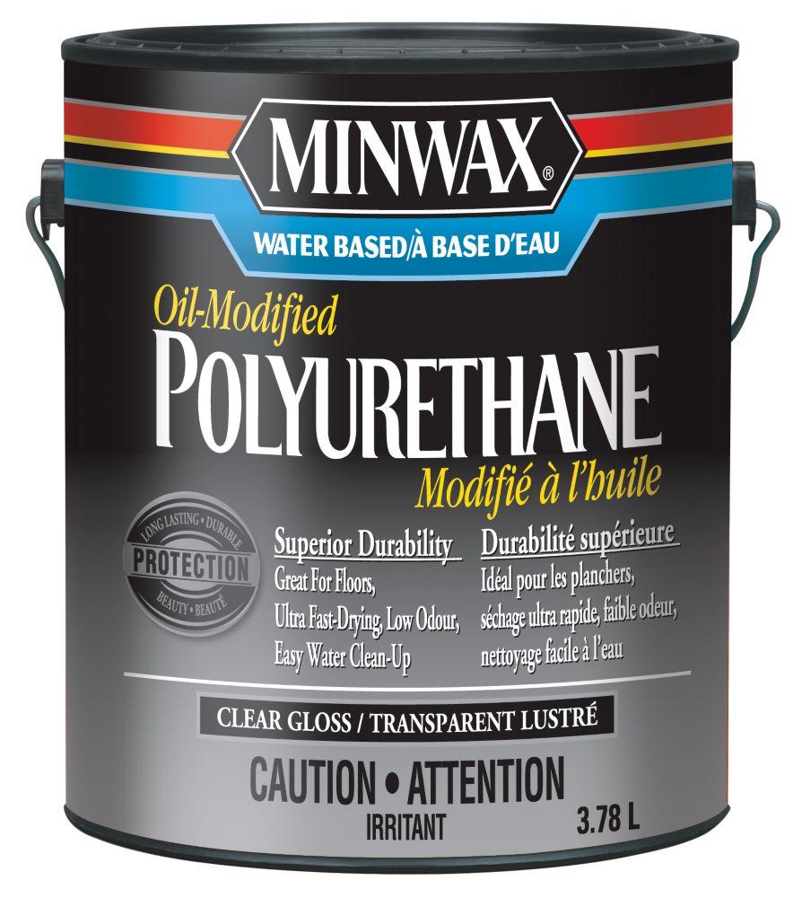 Polyurethane, 3.78L, satiné