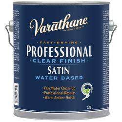 Varathane PROFESSIONEL FINI CLAIR - BASE DEAU Satiné 3.78L