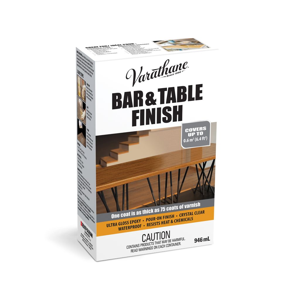 Varathane Bar Table Finish Ultra