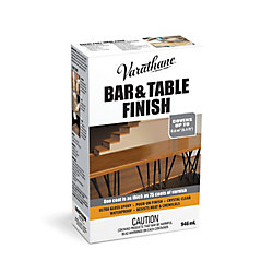Varathane Bar & Table Finish Ultra Thick Pour-On Epoxy In Ultra Gloss Clear, 946 mL