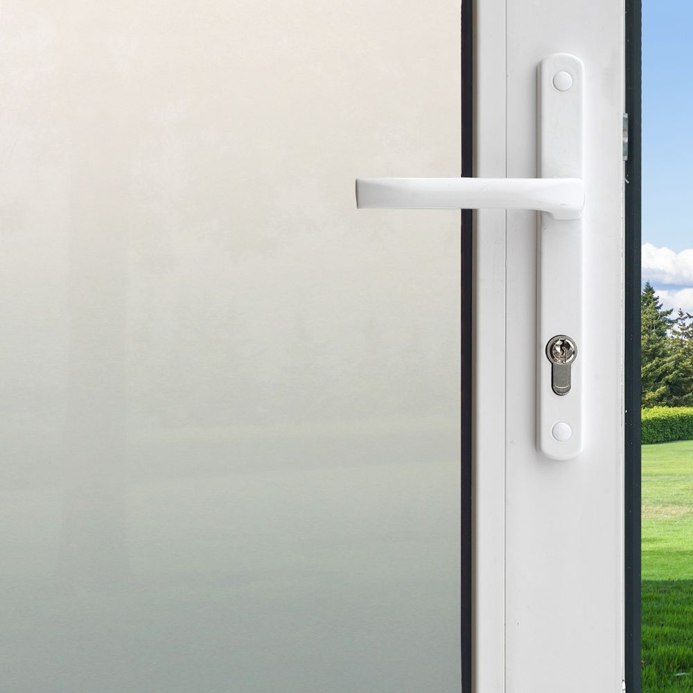 Pellicule Intimité pour fenêtre - Givrée 4 pi x 6,5 pi
