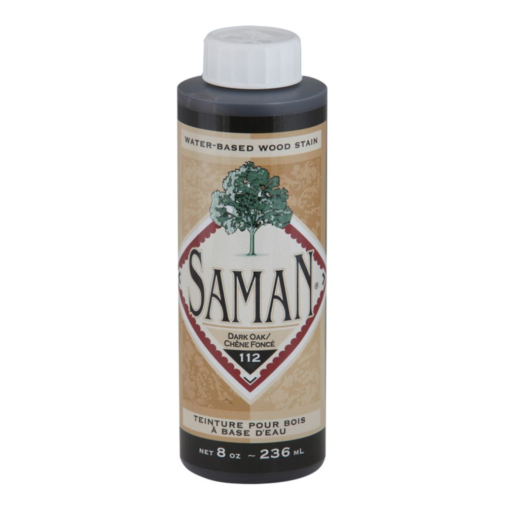 SamaN Water Based Stain Dark Oak 236ml