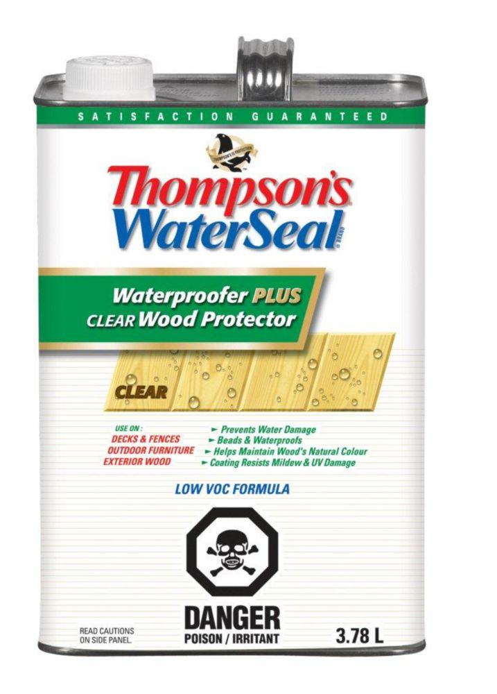 Thompson's Waterseal Waterproofer Plus Clear