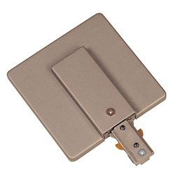 Hampton Bay Live End with Cover Power Feed, Pewter Finish