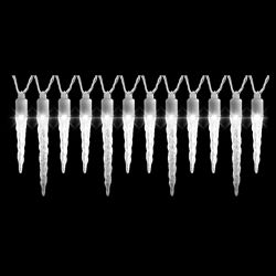 LightShow WHITE LIGHT SHOW-S/12-ICICLE