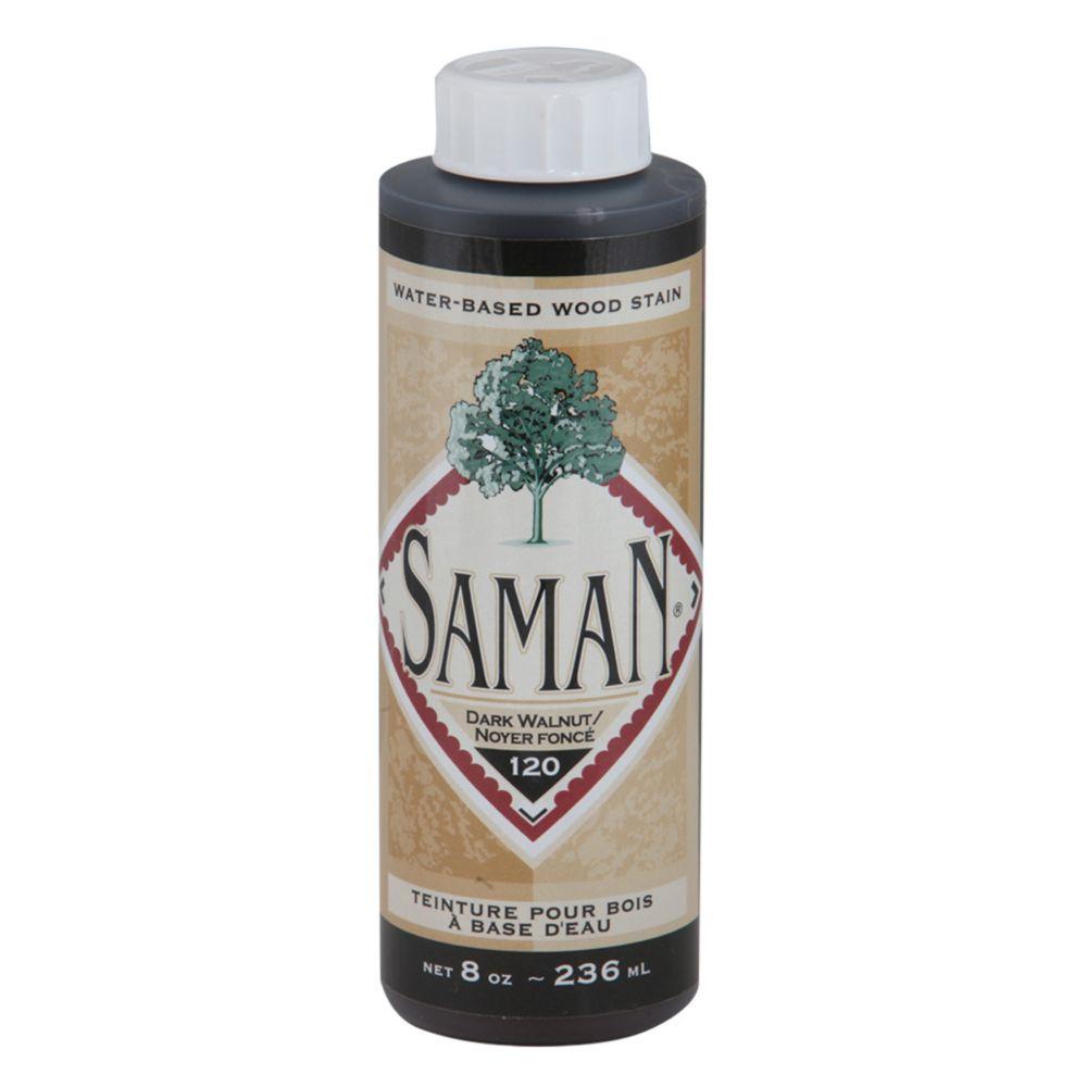 SamaN Water Based Stain Dark Walnut 236ml