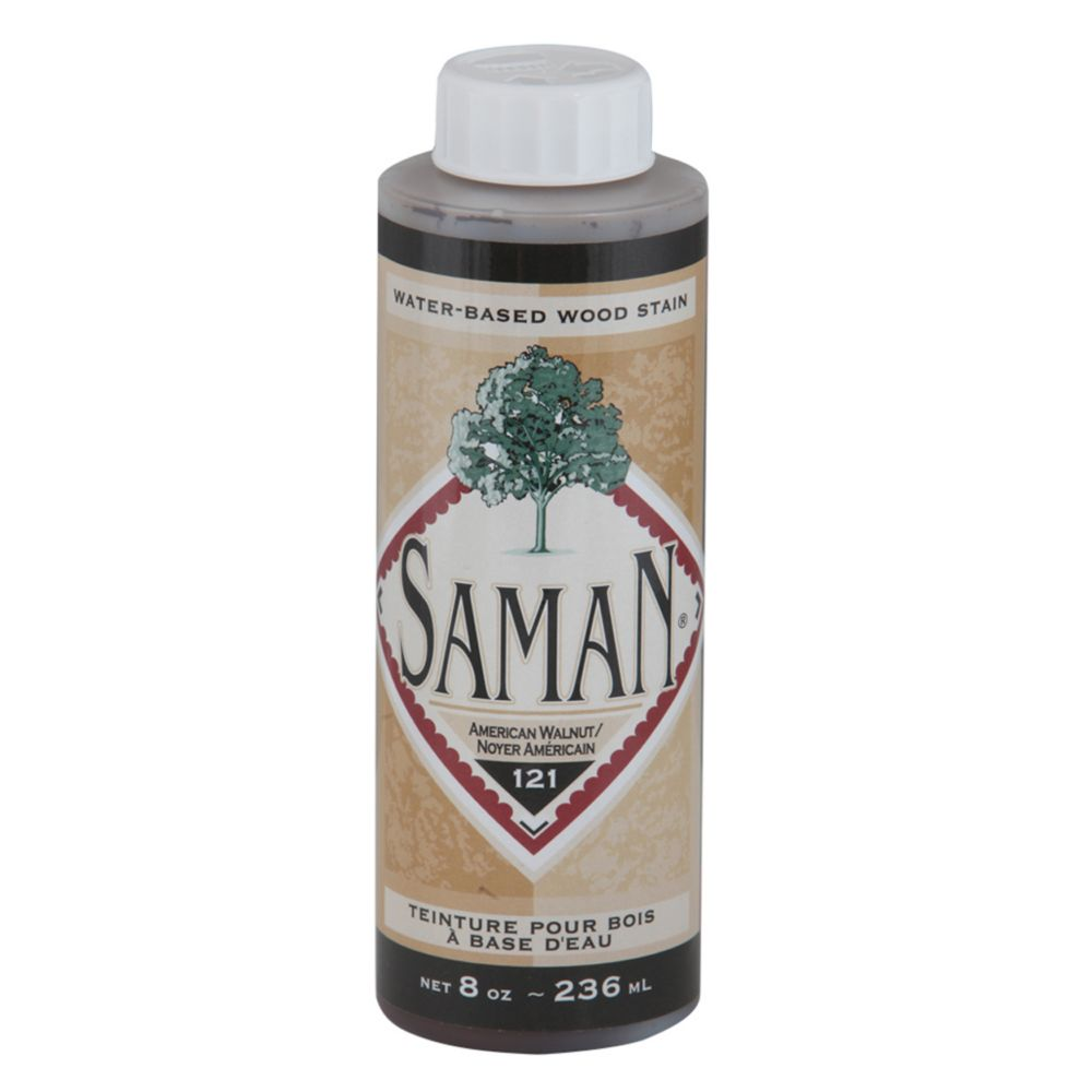 SamaN Water Based Stain American Walnut 236ml