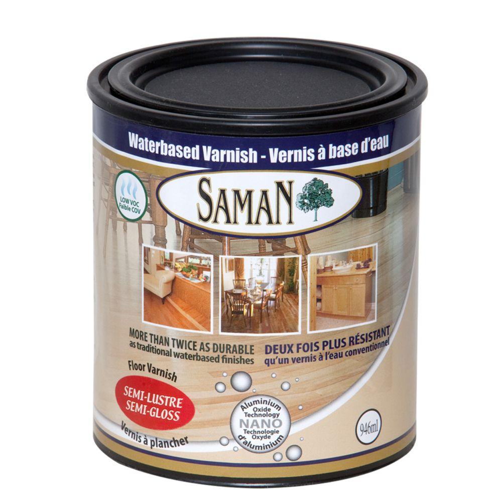 SamaN Water Based Semi-Gloss Finish 1L