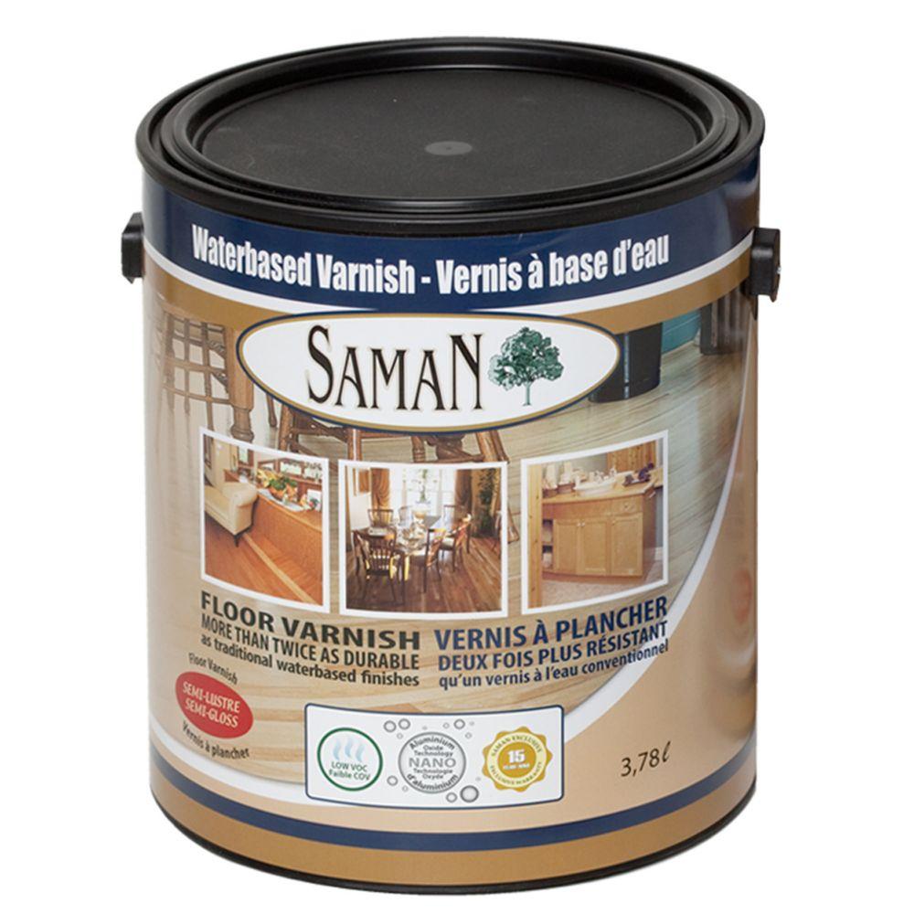 SamaN Water Based Semi-Gloss Finish 3,78L