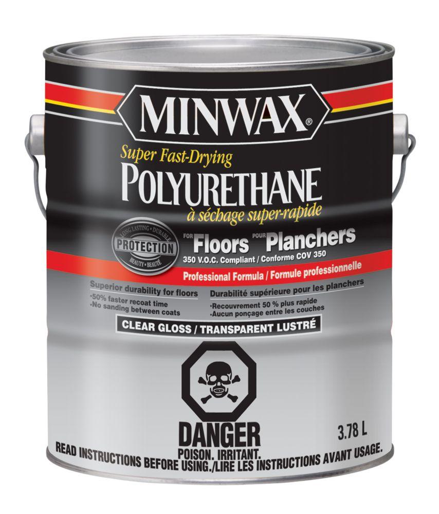 Polyurethane pour planchers, Satiné, 3,78 L