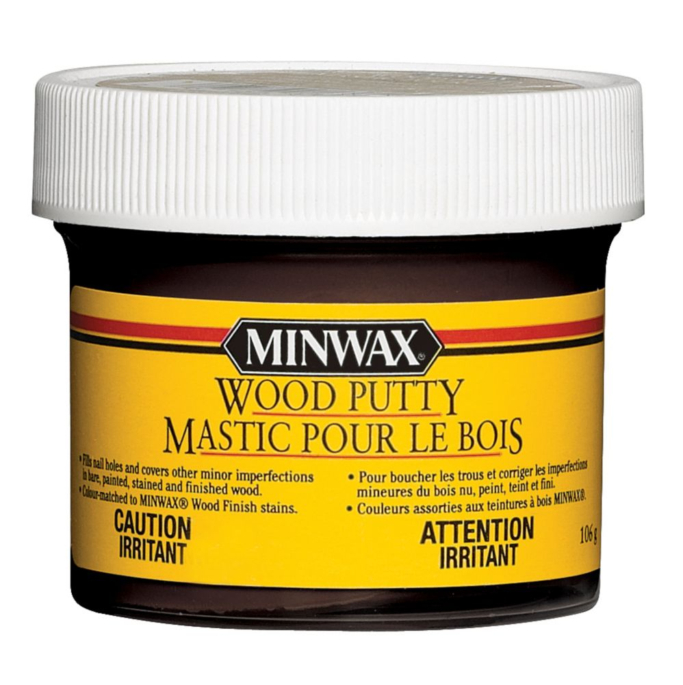 Minwax Wood Putty - Ebony
