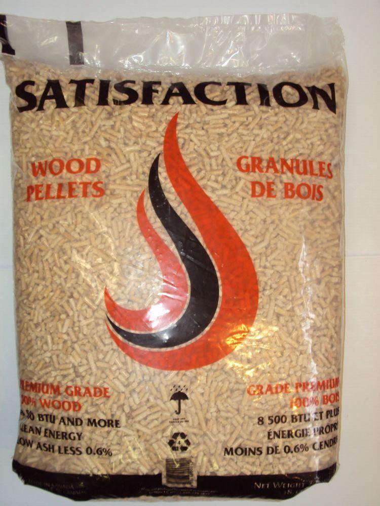 Wood Pellet Fuel Premium Satisfaction  40 lbs