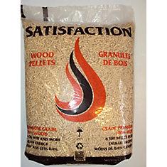Granule de bois PREMIUM SATISFACTION  40 lb